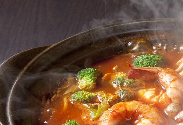 しいたけ_トマト鍋