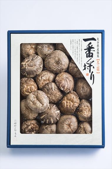 姫野一郎商店_お歳暮商品2016_大分県産特選椎茸「上どんこ」200g