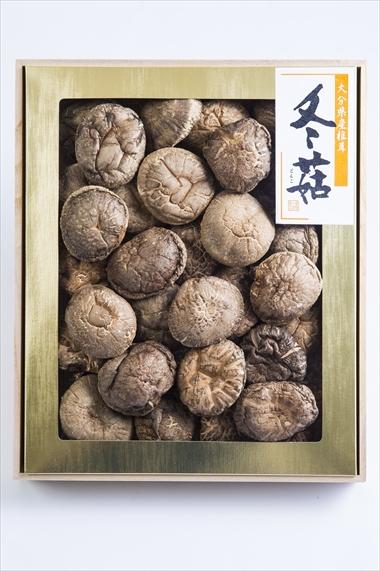 姫野一郎商店_お歳暮商品2016_大分県産特選椎茸「上どんこ」400g