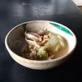 しいたけの中華風スープ
