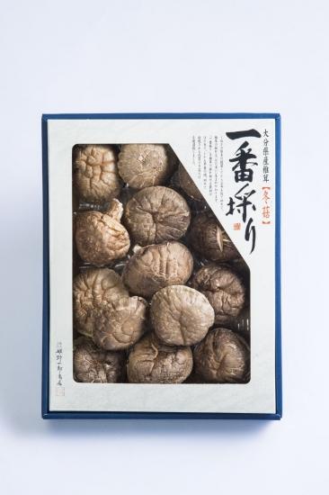 姫野一郎商店_お歳暮商品2016_大分県産特選椎茸「花どんこ」160g