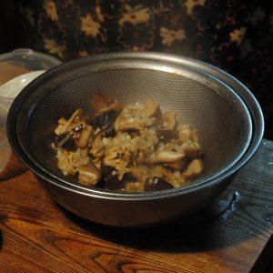 しいたけとアサリの洋風炊き込みご飯5