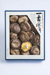 姫野一郎商店_お歳暮商品2016_大分県産特選椎茸「香信」150g