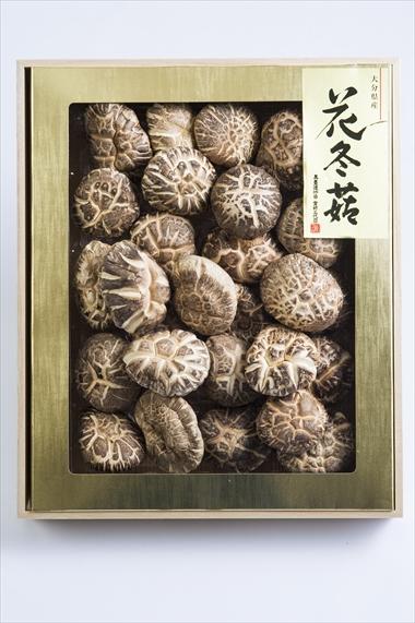 姫野一郎商店_お歳暮商品2016_大分県産特選椎茸「花どんこ」320g