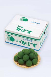 贈り物_大分県竹田産_特級かぼす4-5kg